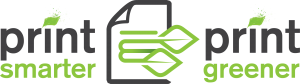 Print-Smarter-Print-Greener Logo