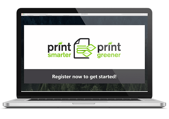 print smarter print greener register now