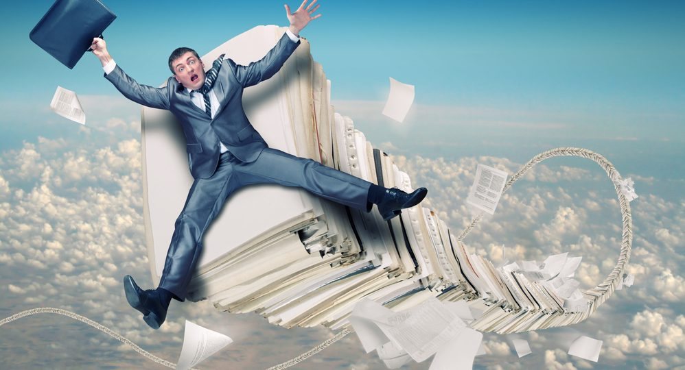 Documents Out of Control? Here's What You Can Do About It., LCI Office Solutions